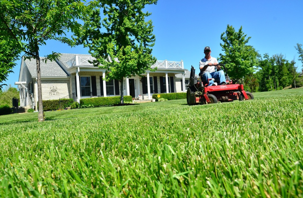 Lawn Properly Maintained